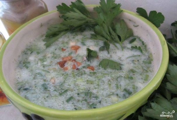 """Болгарский холодный суп """"Таратор"""""""