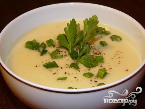Охлажденный летний суп