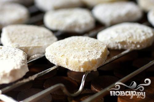 Печенье с лаймом и ванилью