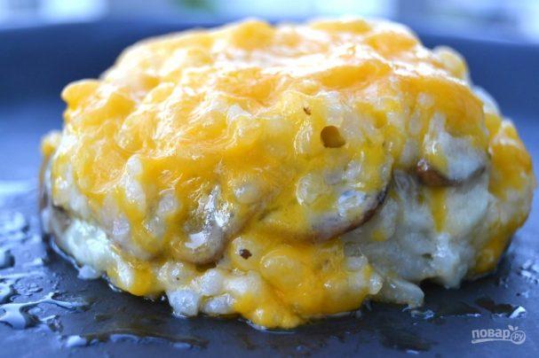 Рисовый пирог с сыром