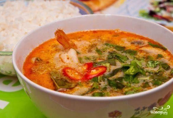 "Суп ""Том ям"" с креветками"