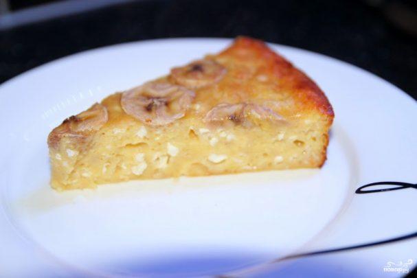 Банановый пирог пошаговый рецепт