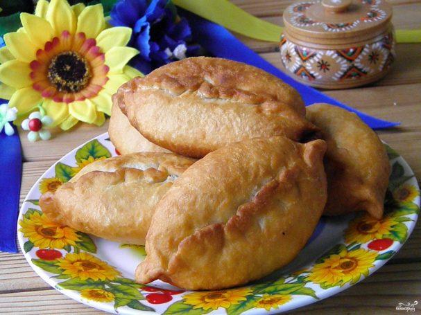 Пирожки с яйцами на кефире