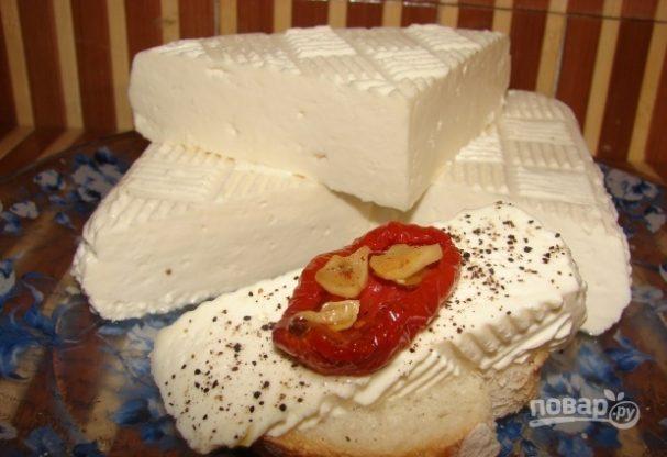 Домашний сыр с пепсином