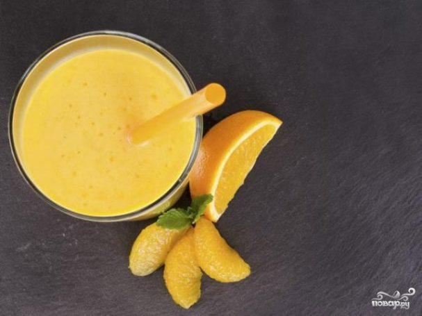 Смузи из апельсина