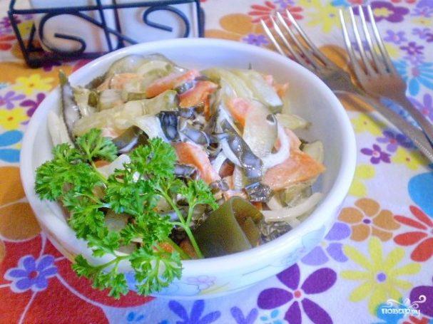 к рыбе салаты рецепты