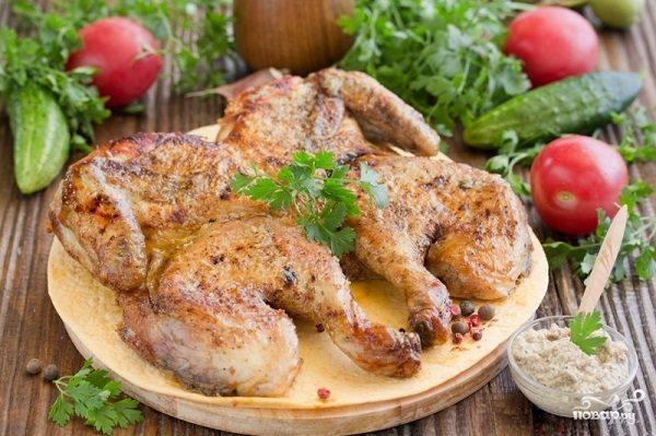 Цыпленок под соусом