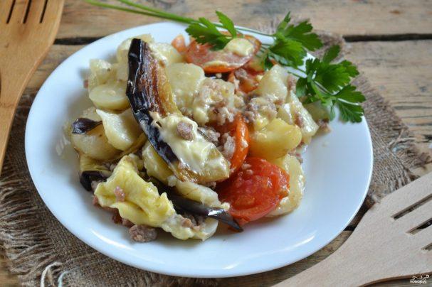 мусака классический рецепт с пошаговым фото