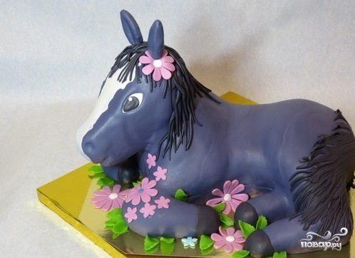 """Торт """"Лошадь"""""""