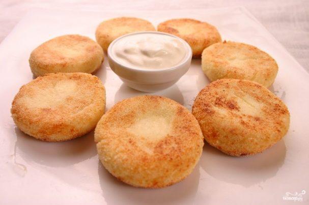 сырники из творога в духовке с манкой рецепт