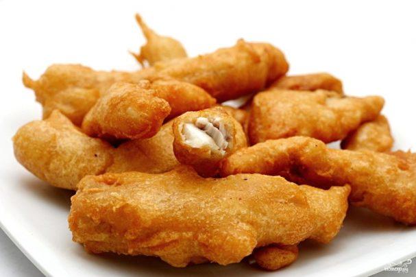 Automatically skip в кляре рыба Рецепты Renu Nayal