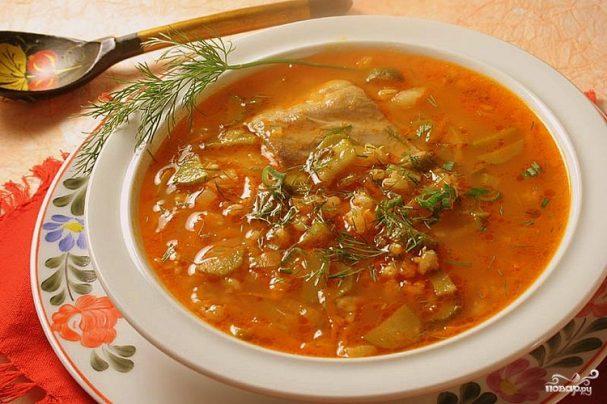 Суп с солеными огурцами