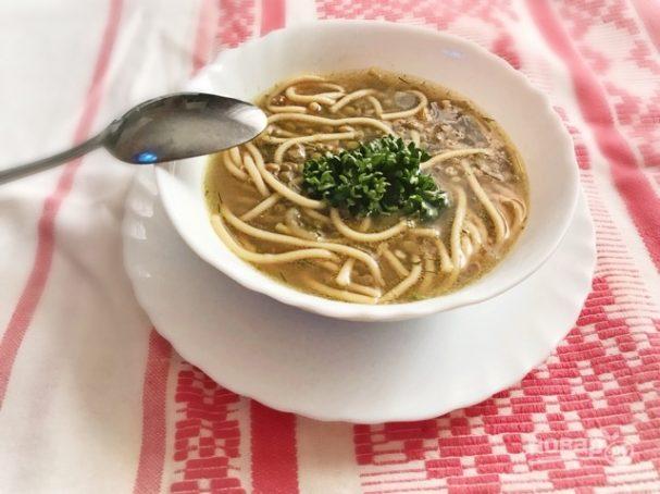 Ливанский чечевичный суп