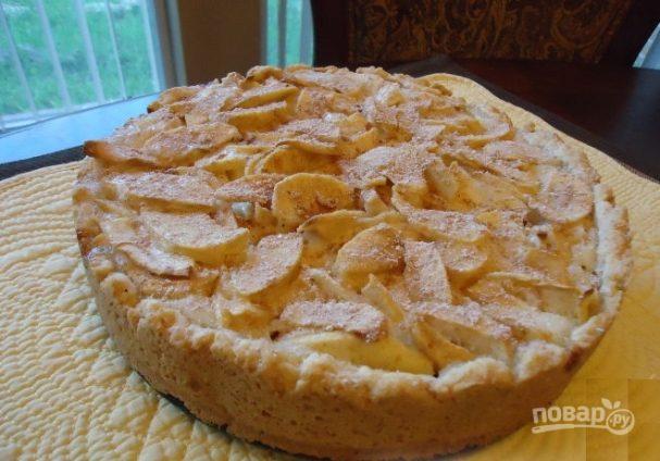 Обычный яблочный пирог