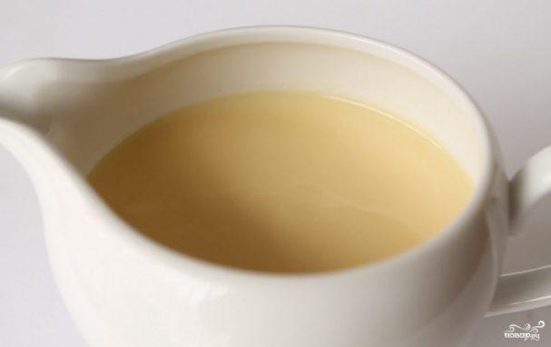 Заварной белковый крем