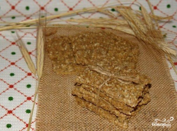 Хлебцы из отрубей