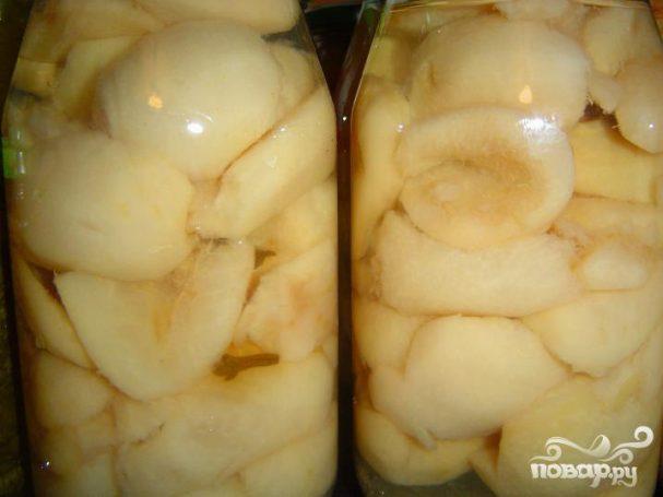 Моченые груши