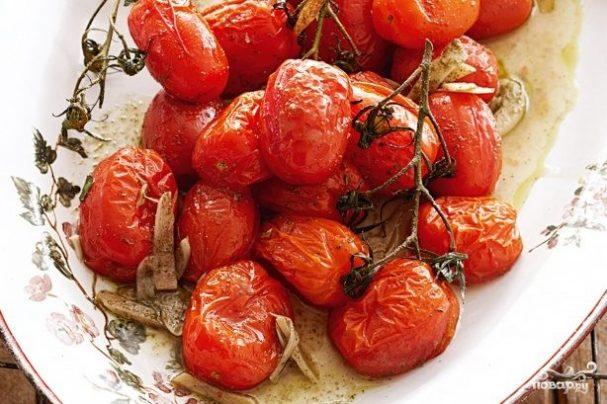 Запечённые помидоры черри