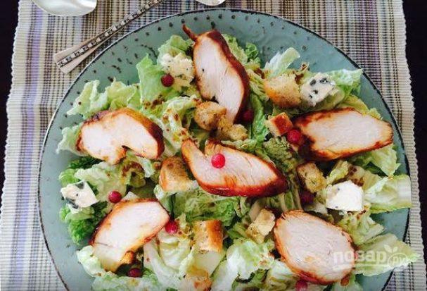 Салат с пекинской капусты
