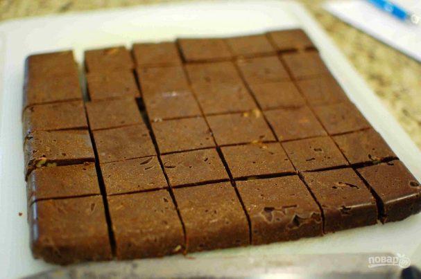 Шоколадно-ореховые конфеты