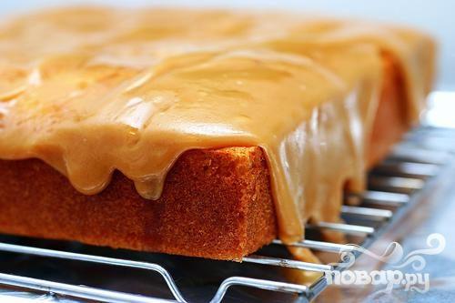 Карамельный пирог