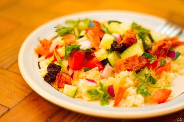 Салат из кускуса
