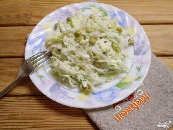 Салат из редиски дайкон