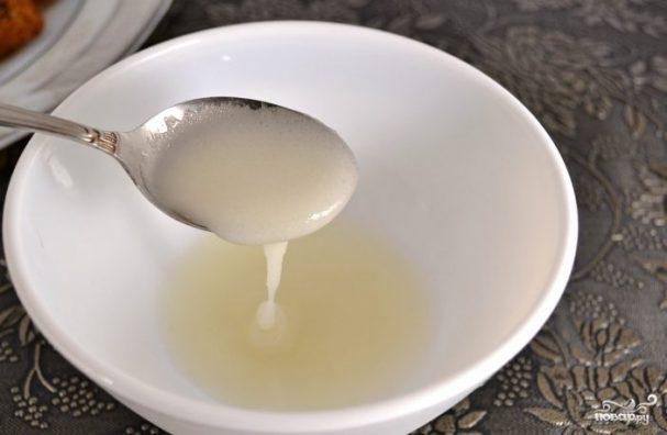 Сахарная глазурь для кулича