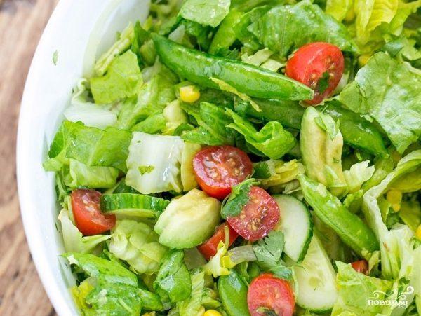 Мексиканский овощной салат
