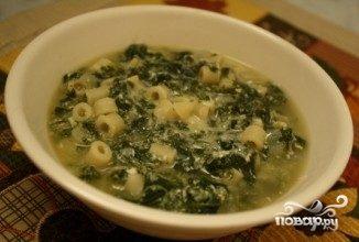 Итальянский суп с макаронами