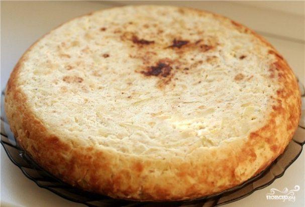Сырная запеканка в мультиварке