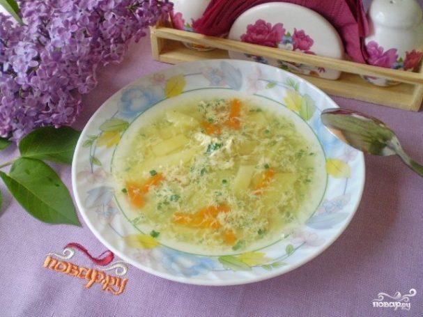 Самый простой суп без мяса