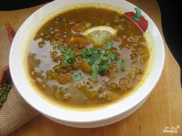 Фасолевый суп Дал Таркари