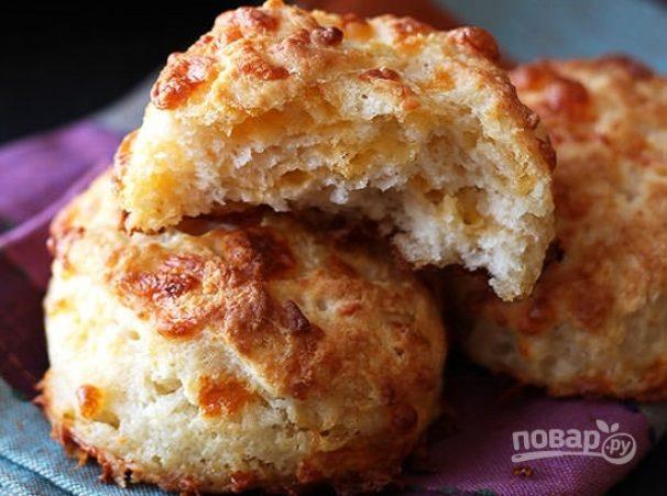 Закусочные сырные печенюшки