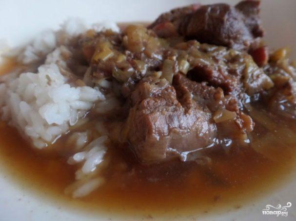 Томленое мясо в духовке