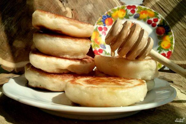 Оладьи из кабачков рецепт с молоком