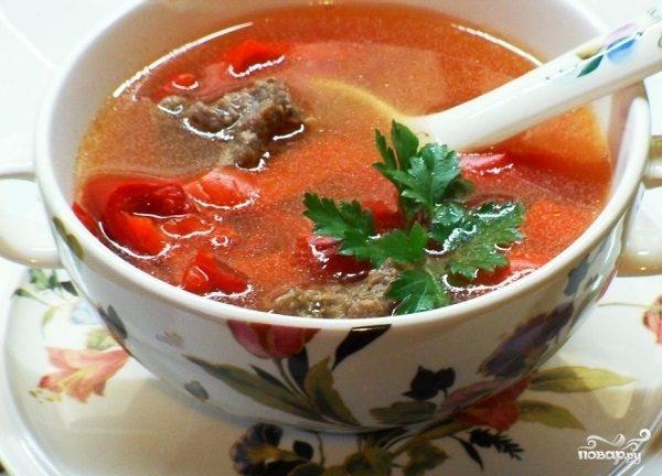 Суп из лечо