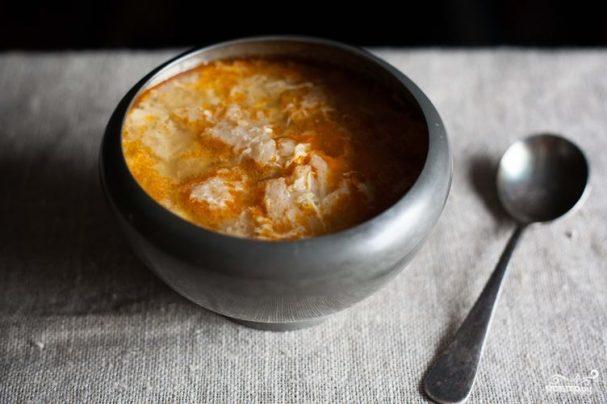 Чесночный суп испанский