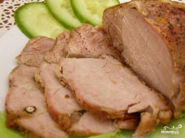 Мясо в духовке в фольге