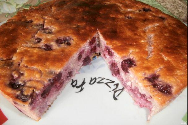 Диетический пирог с творогом