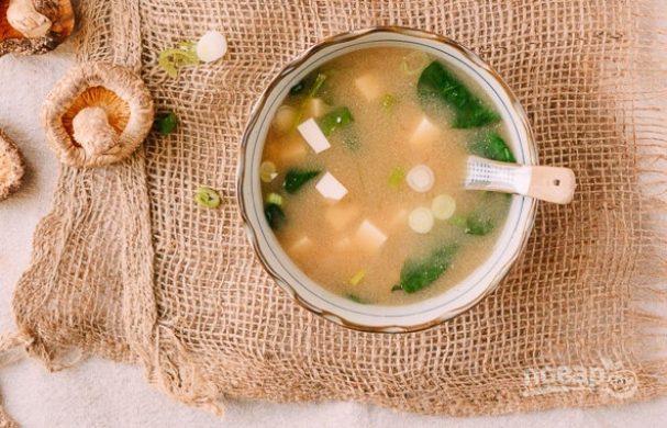 "Суп ""Мисо"" с тофу"