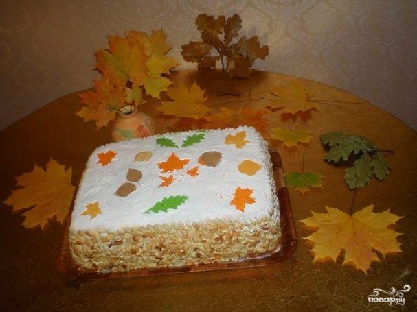 """Торт """"Листопад"""""""