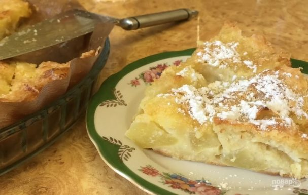 Вкуснейший яблочный пирог в домашних условиях