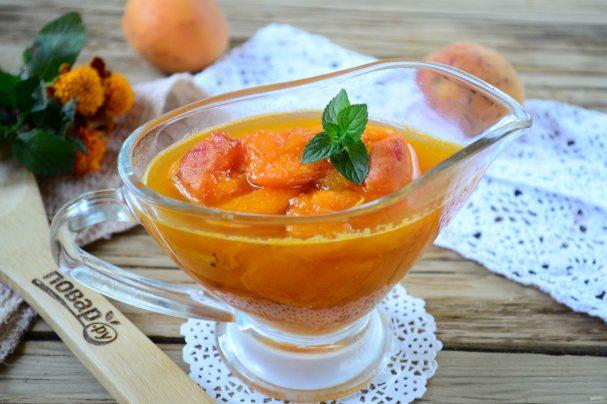 Варенье из абрикосов с курагой