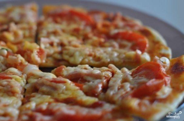 пицца в аэрогриле рецепты с фото пошагово