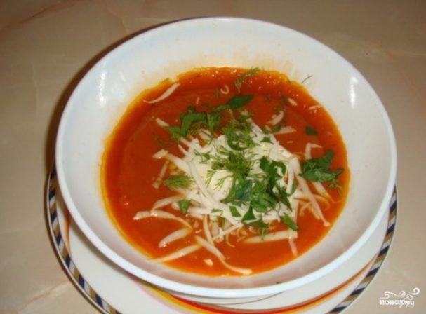 рецепт супа пюре томатного в мультиварке