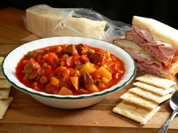 Суп-рагу с говядиной
