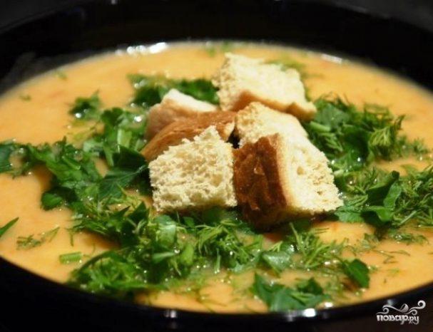 Диетический овощной суп-пюре