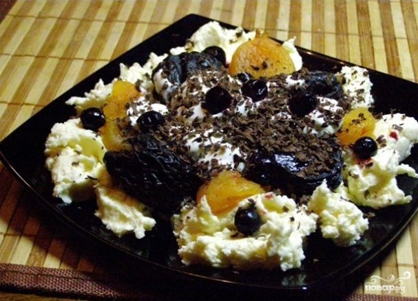 десерт из сухофруктов рецепт