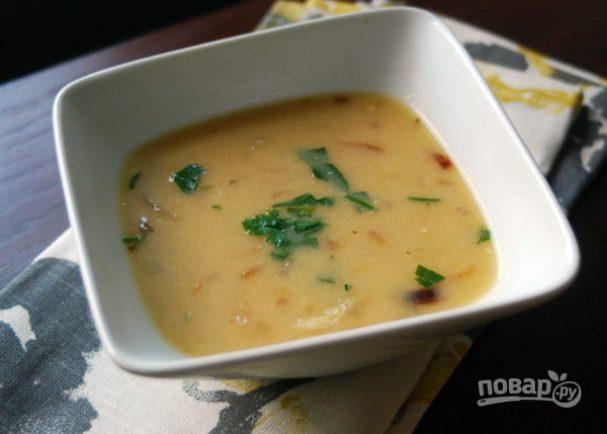 Луковый суп простой